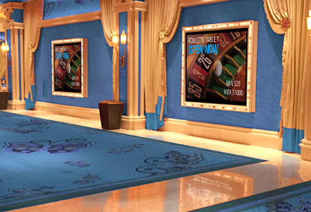 Hotel and Casino Digital Signage
