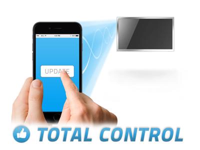 Custom Content Digital Signage